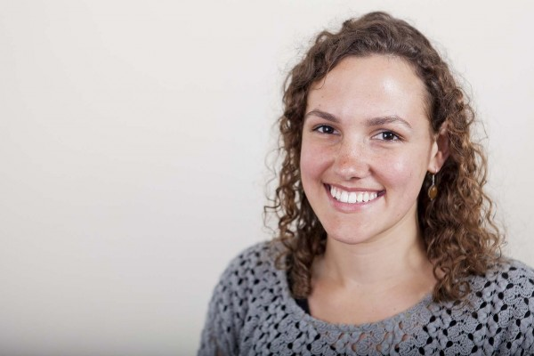 Clara Maeder '14  is a 2014 recipient of a Fulbright U.S. Student Grant. (Sarah Crosby/Bates College)