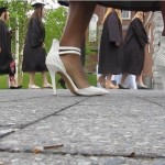 Video: The shoes fit for Bates seniors and faculty at Commencement