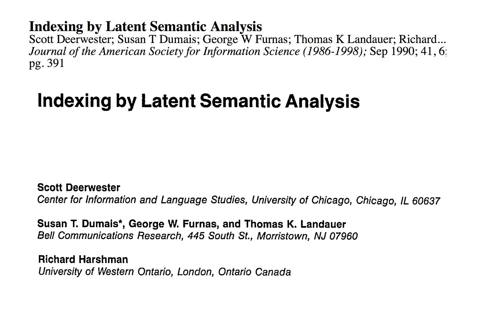 indexing-by-LSI-1990-journal