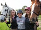 Equestrians Kirwin '15 and Kiesler '16 ride to top-10 finish at Nationals