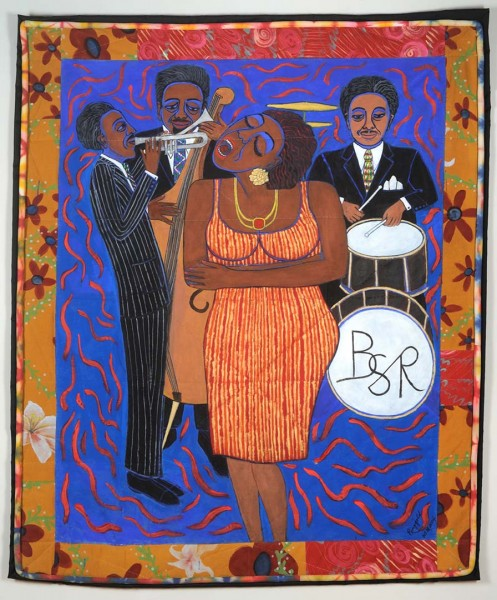 Faith Ringgold, Jazz Stories: Mama Can Sing, Papa Can Blow #4, 2