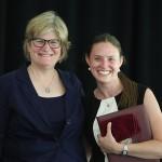 Elizabeth Metz McNab '64 and Victoria Wyeth '01 receive Bates' Best honors