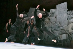 "David Dorfman Dance performs ""Come, and Back Again."" (Adam Campos)"
