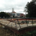 Campus Construction Update, Aug. 14, 2014: Bringing down the houses