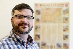 Michael Rocque, assistant professor of sociology. (Phyllis Graber Jensen/Bates College)