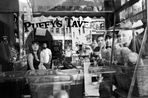 """Puffy's Tavern TriBeCa"" (2010), archival pigment print by Donna Ferrato. Gift of Charles Dorkey III, 2013."