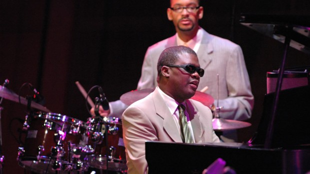 Pianist Marcus Roberts.