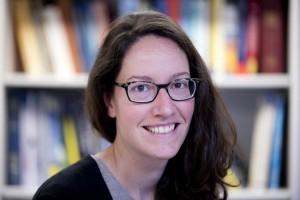 Geneviève Robert, assistant professor of geology. (Phyllis Graber Jensen/Bates College)
