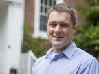 Brett Huggett, assistant professor of biology. (Sarah Crosby/Bates College)