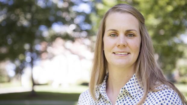 Katharine Ott, assistant professor of mathematics. (Sarah Crosby/Bates College)