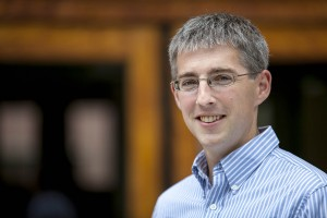Nathan Tefft, assistant professor of economics. (Sarah Crosby/Bates College)