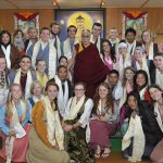 'Living history' as Bates juniors join private audience with the Dalai Lama