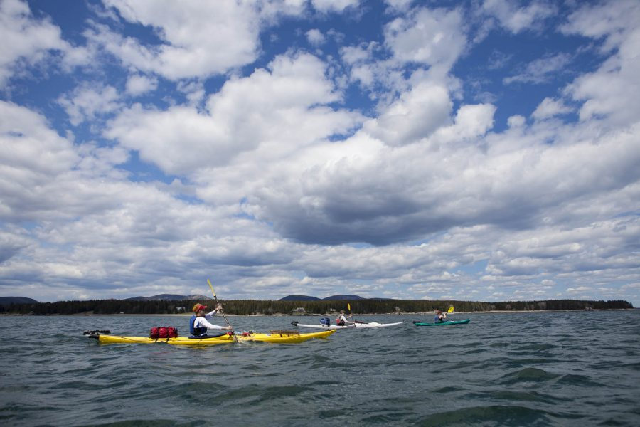 Geology of the Maine Coast by Sea Kayak, Cranberry Isles, 2014