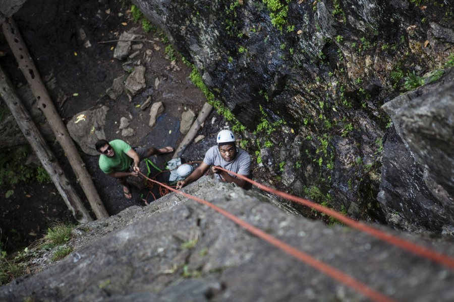 Rock Climbing, 2014