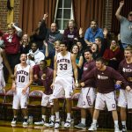 At 7-0, men's basketball heads into winter break full of cheer