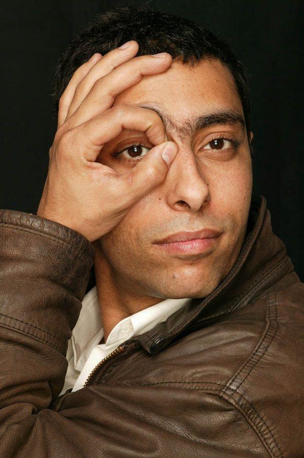 The award-winning Algerian filmmaker Lyes Salem.