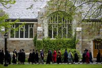 The Bates faculty during Commencement 2014. (Phyllis Graber Jensen/Bates College)