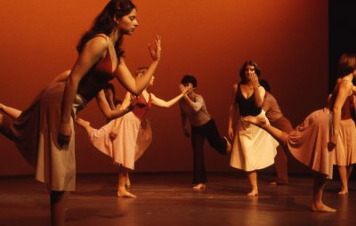 "The Bates Modern Dance Company performs ""Appalachian Spring"" in 1979. (Leonard Plavin, courtesy of Marcy Plavin)"