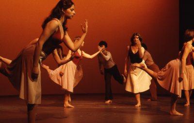 "The Bates Modern Dance Company performs ""Appalachian Spring"" in 1979. (Leonard Plavin, courtesy of Marcy Plavin)"