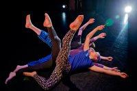 Keila Ching '18.Hannah Miller '14 and Lucas Wilson-Spiro '15 perform. (Phyllis Graber Jensen)