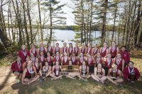 For the second straight year, women's rowing heads to the NCAA Championships, May 29-30 in Gold River, Calif., as the top-ranked Division III team. Watch the team's quest for the college's first-ever NCAA team championship at live.ncaa.com/liveschedule. (Josh Kuckens/Bates College)