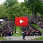 Commencement livestream begins 10 a.m. Sunday, May 31