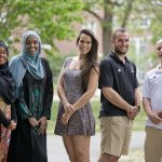 College close to home meant best of both worlds for five local Bates graduates