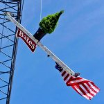 Multimedia: Steel-beam celebration 'tops off' new residence hall construction