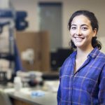 Summer Student Work: Paige Guevarra '18 gets to the heart of glass as geology assistant