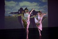 "Bliss Kohlmyer and Kara Davis appear in the Bates Dance Festival's ""Different Voices"" concerts. (Andy Mogg)"