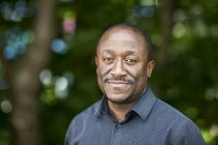 Henry Boateng joined the Bates faculty in August 2015 as an assistant professor of mathematics. (Josh Kuckens/Bates College)
