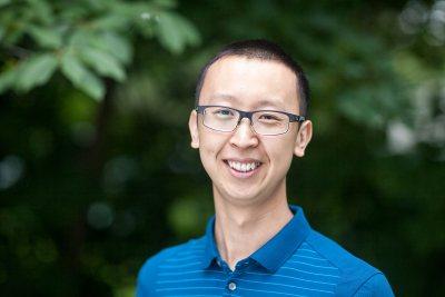 Assistant Professor of Economics Leshui He. (Josh Kuckens/Bates College)
