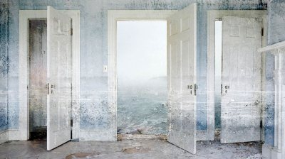 """Ephemera,"" a 2014 digital montage by Jeffery Becton. Courtesy of the artist."