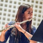 Becky Schwartz '16 is flute soloist in Bates Orchestra program