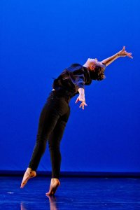 """Bates dancers will join performers and choreographers from around Maine and beyond in the 11th annual """"F.A.B. Winter Dance Showcase."""" (Phyllis Graber Jensen/Bates College)"""