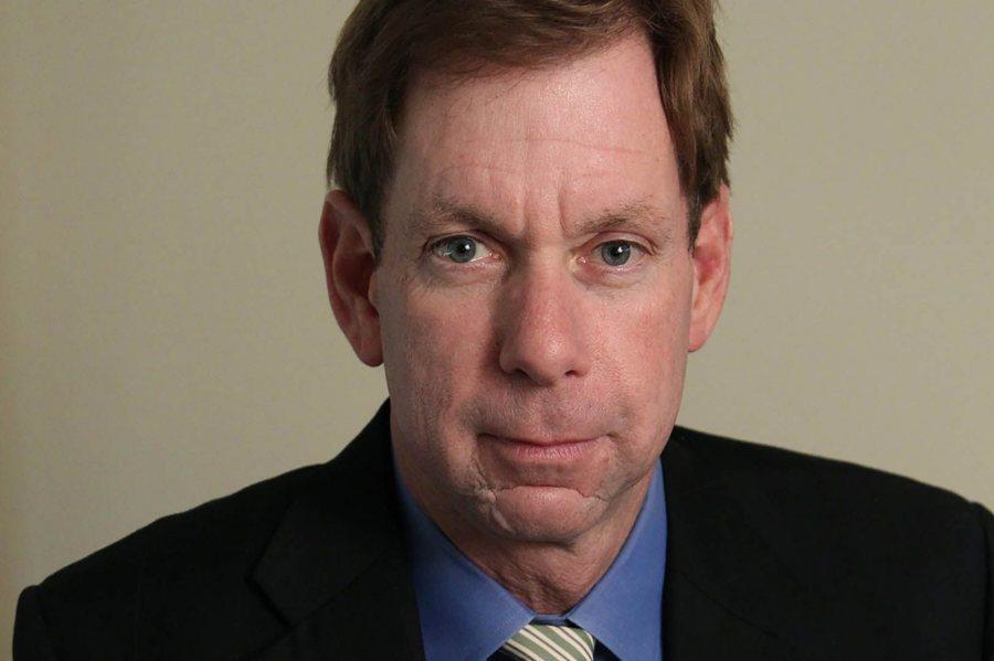 Brian McGrory '84, editor of The Boston Globe. (Suzanne Kreiter/Boston Globe staff)