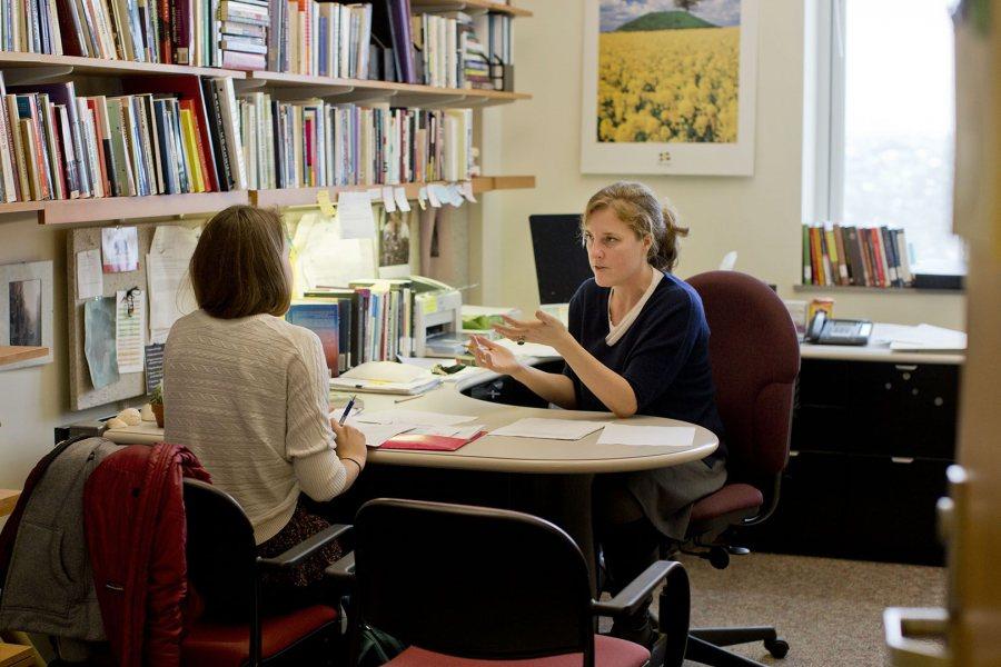 Rebecca Herzig is the college's Christian A. Johnson Professor of Interdisciplinary Studies and chair of the Division of Interdisciplinary Studies. (Phyllis Graber Jensen/Bates College)