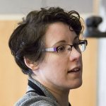 Associate Professor of Philosophy Lauren Ashwell is chair of the Program in Digital and Computational Studies. (Josh Kucken/Bates College)
