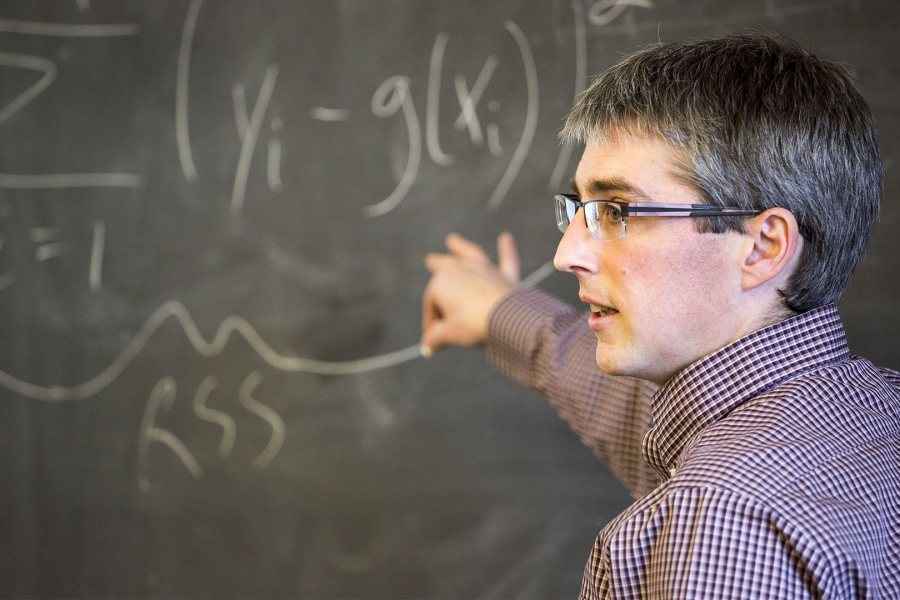Nathan Tefft is an assistant professor of economics. (Josh Kucken/Bates College)