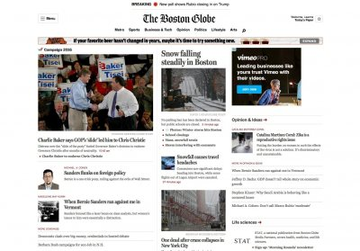 While the print circulation has plummeted, The Boston Globe has more readers than it's every had. But it's not making much money from its large online readership.