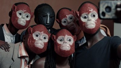 "A scene from Kivu Ruhorahoza's 2015 film ""Things of the Aimless Wanderer."""