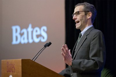 "Matt Auer, vice president for academic affairs and dean of the faculty, says that the six new professorships give Bates ""an unprecedented opportunity to shape the faculty and curriculum of the future — in terms of excellence, diversity, and intellectual scope.""(Phyllis Graber Jensen/Bates College)"