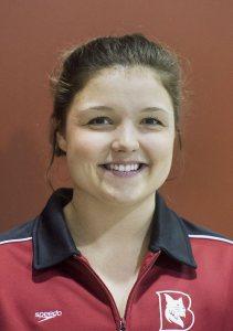 Melissa Paione '16 of Auburn, Maine. (Josh Kuckens/Bates College)