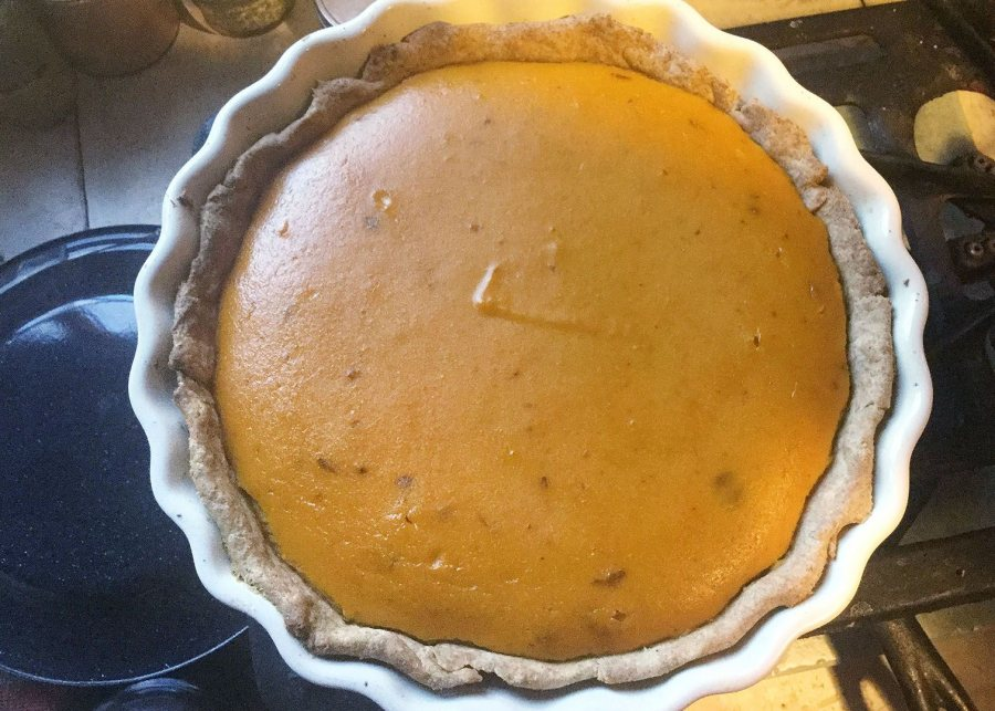 Creswell's Maine pumpkin pie.