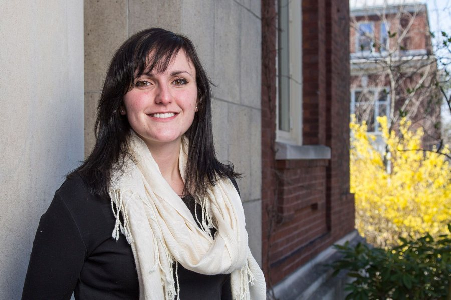 Alexandra LeFevre '16, a politics major from Hastings-on-Hudson, N.Y., was awarded a 2016–17 Fulbright English Teaching Assistantship for Armenia. (Josh Kuckens/Bates College)