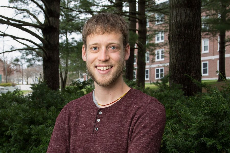 Max Silverman '16, an interdisciplinary studies major from Dobbs Ferry, N.Y., received a 2016–17 Fulbright English Teaching Assistantship for Nepal. (Josh Kuckens/Bates College)