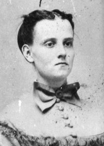 Mary Wheelwright Mitchell was the college's first female graduate, in 1869. (Muskie Archives and Special Collections Library)