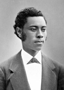 Henry Chandler, Class of 1874, was the college's first African American graduate. (Muskie Archives and Special Collections Library)