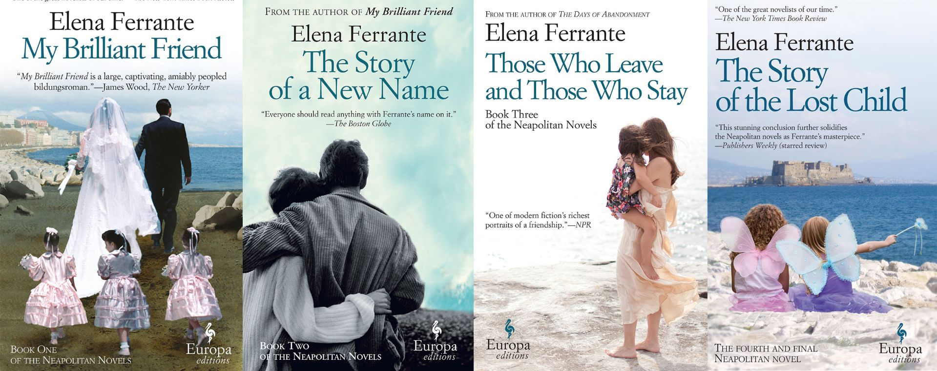 The Neapolitan Novels by Elena Ferrante got the most mentions in this year's list, with five.