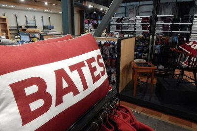 The College Store on July 25. (Doug Hubley/Bates College)
